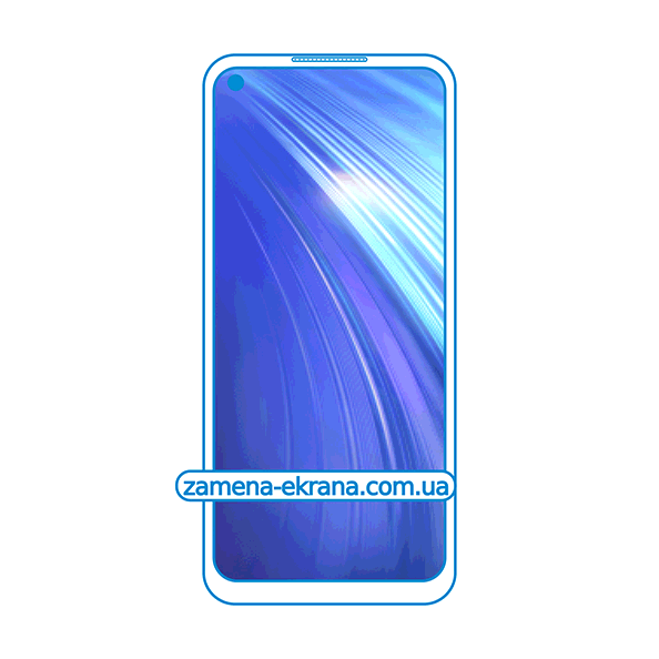 дисплей и стекло корпуса  для замены Realme 6