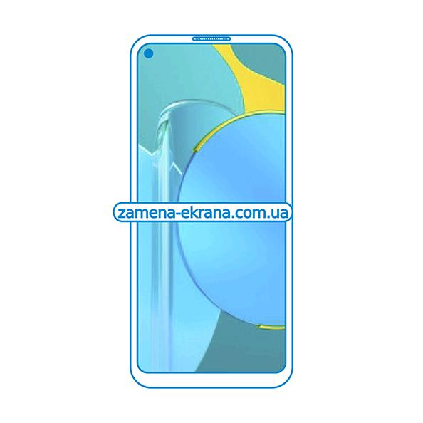 дисплей и стекло корпуса  для замены Honor 30S