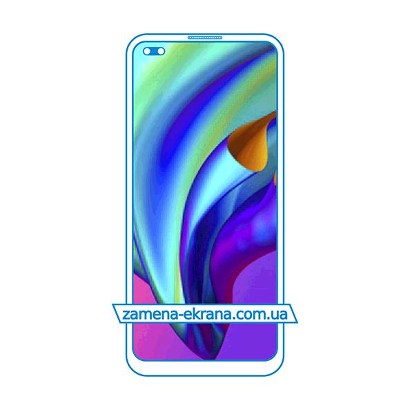 дисплей и стекло корпуса  для замены Oppo F17 Pro
