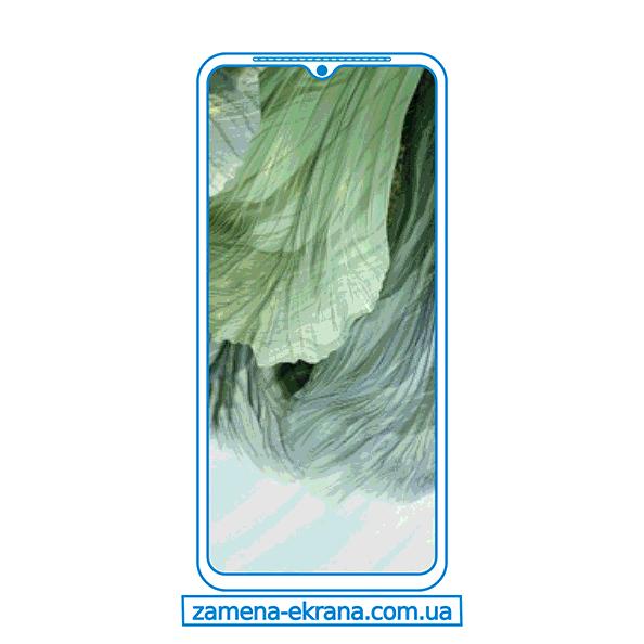 дисплей и стекло корпуса  для замены Oppo F17