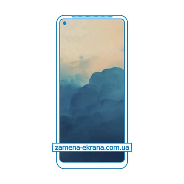 дисплей и стекло корпуса  для замены Oppo Reno Ace 2