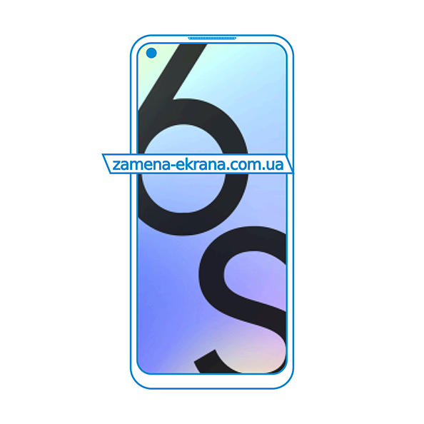 дисплей и стекло корпуса  для замены Realme 6S