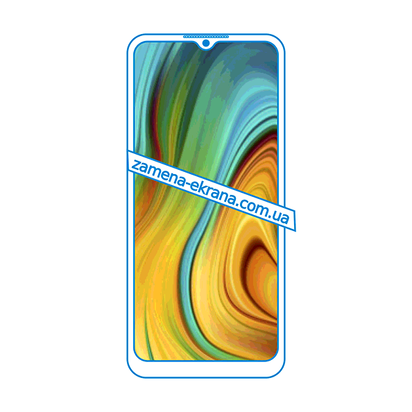дисплей и стекло корпуса  для замены Realme C3i