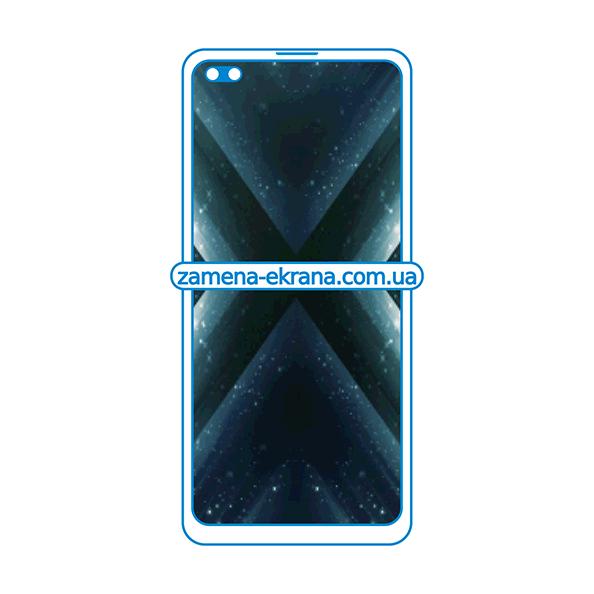 дисплей и стекло корпуса  для замены Realme X3 SuperZoom