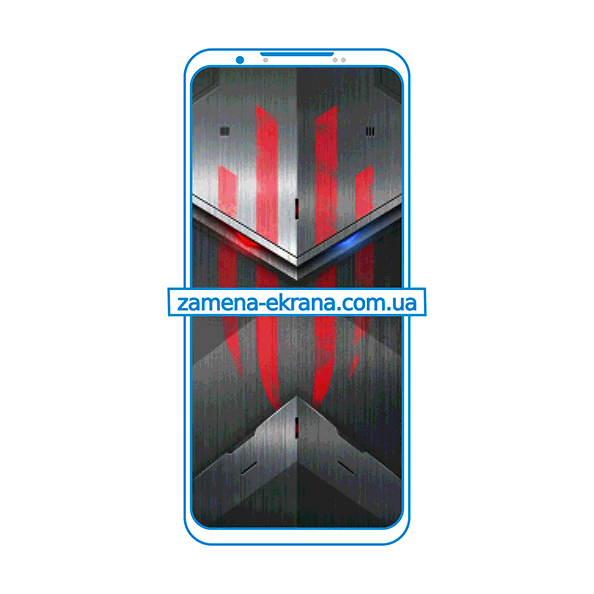 дисплей и стекло корпуса  для замены ZTE Nubia Red Magic 5S