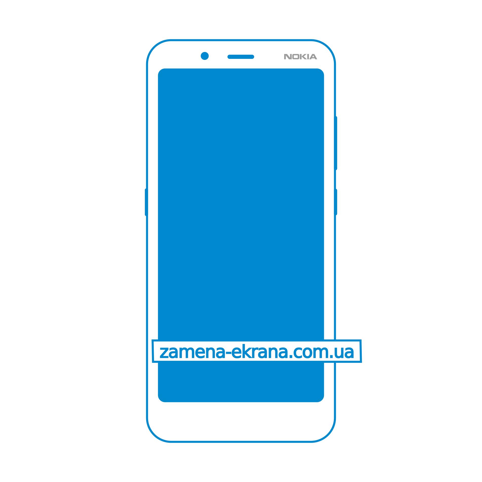экран для замены Nokia C2 Tennen