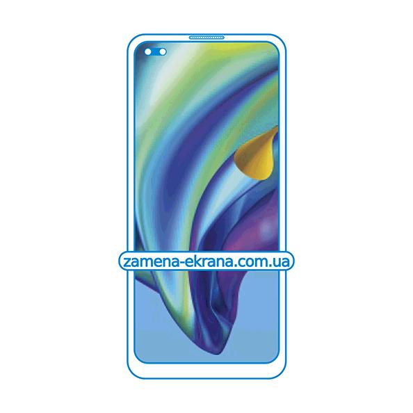 стекло для наклейки Oppo Reno4 Lite