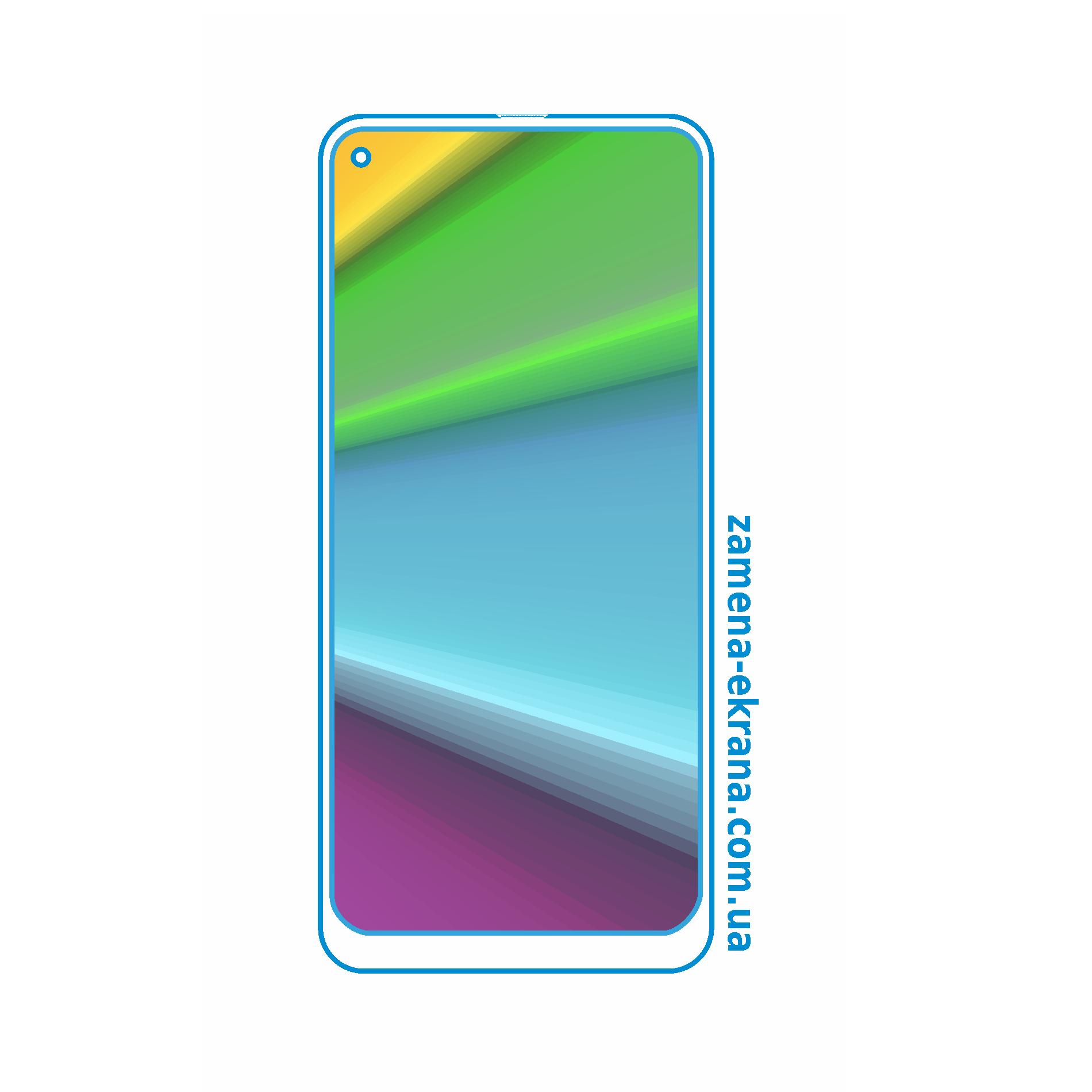стекло для наклейки Samsung Galaxy A21