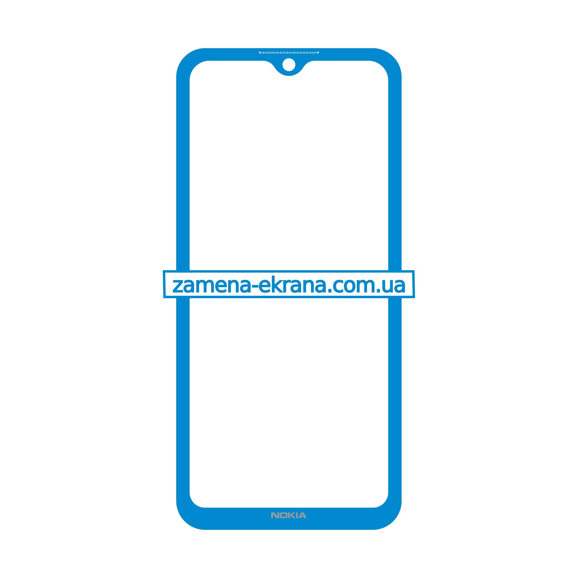 стекло корпуса Nokia 5.3