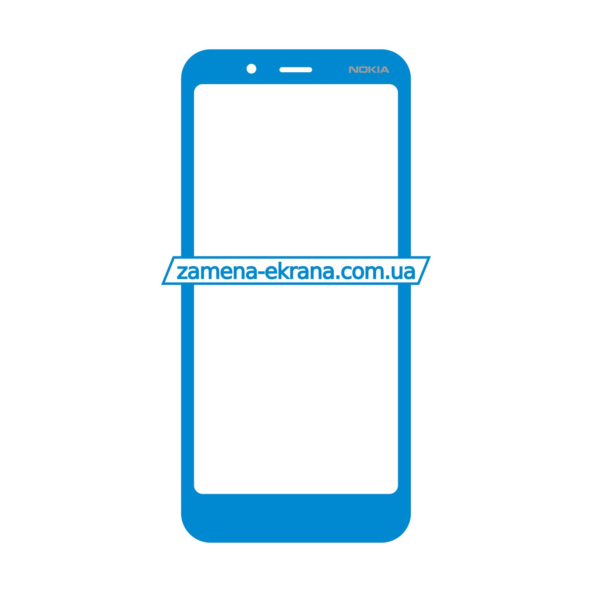 стекло корпуса Nokia C2 Tennen