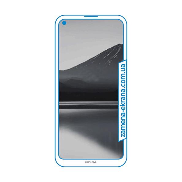 стекло для наклейки Nokia 3.4