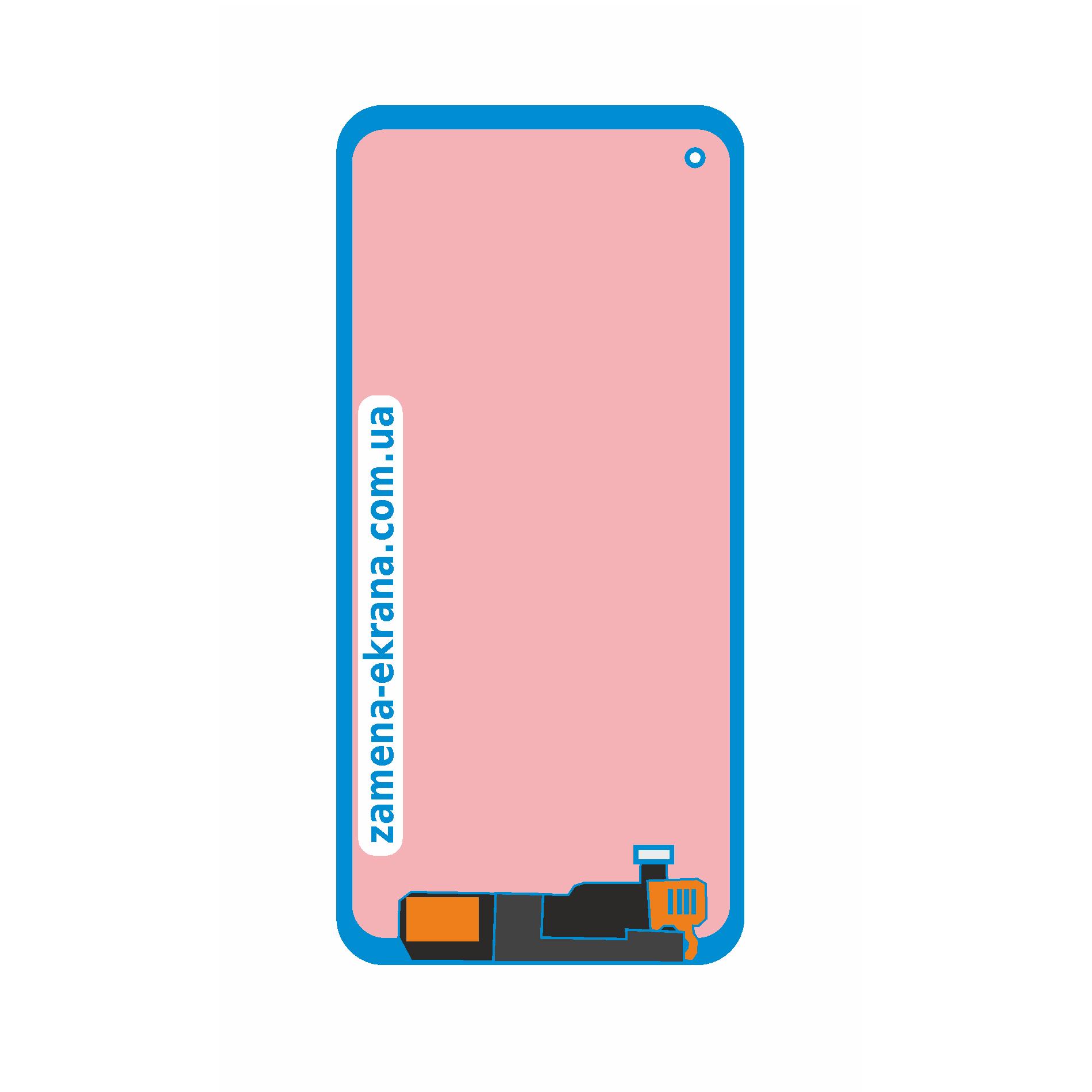 дисплей для замены Samsung Galaxy M60