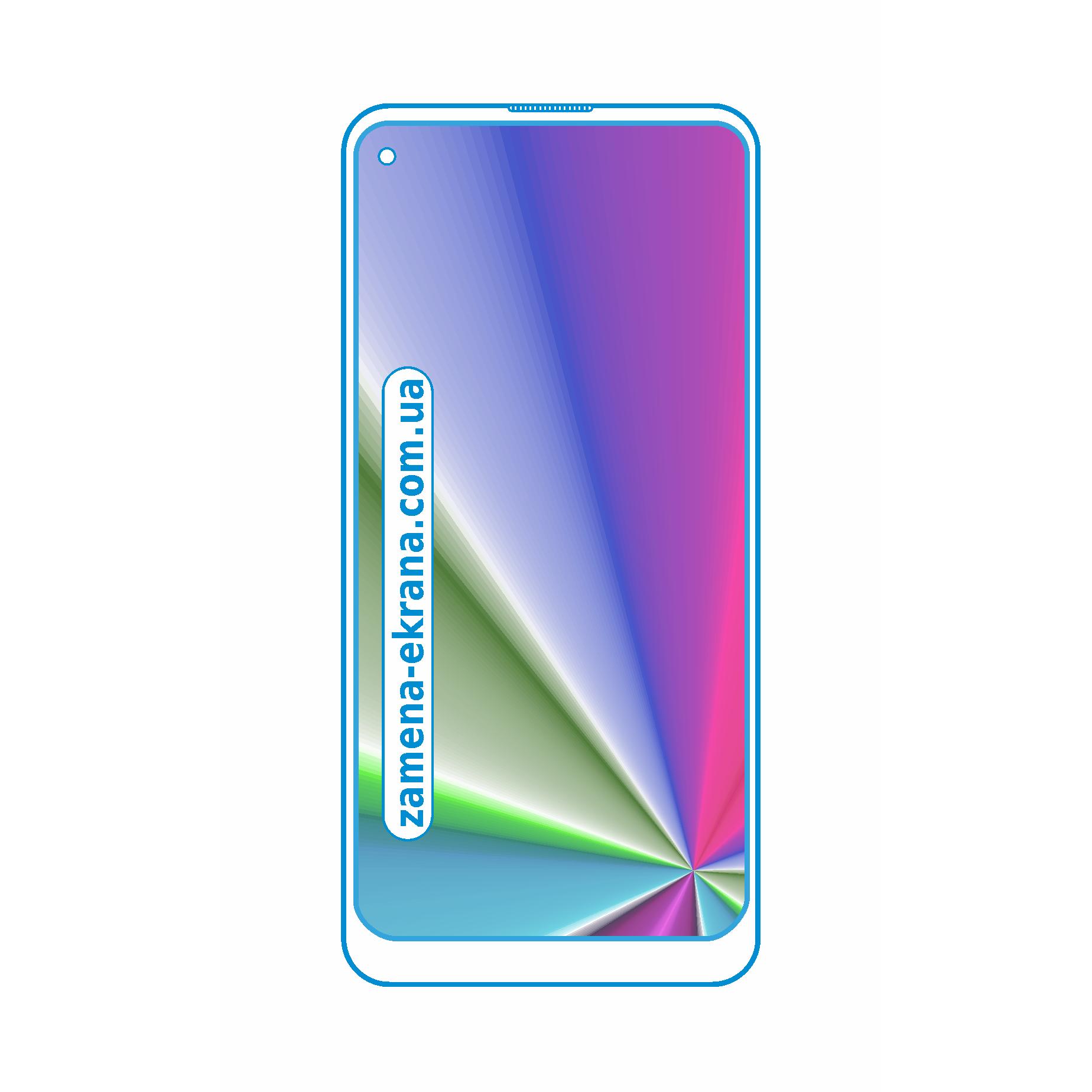 стекло для наклейки Samsung Galaxy M50