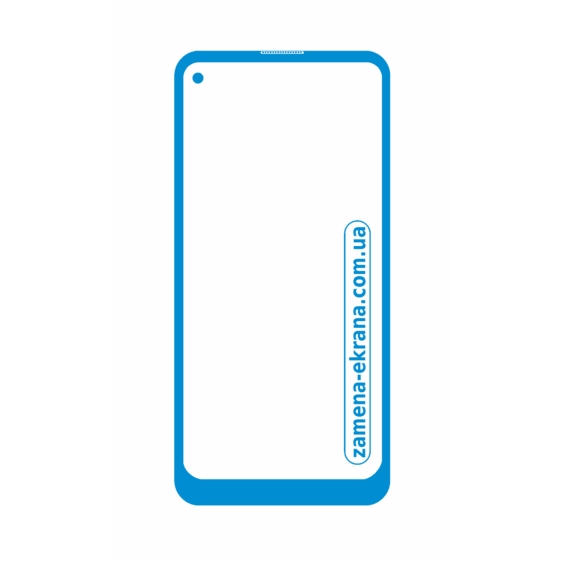 стекло корпуса Samsung Galaxy M50