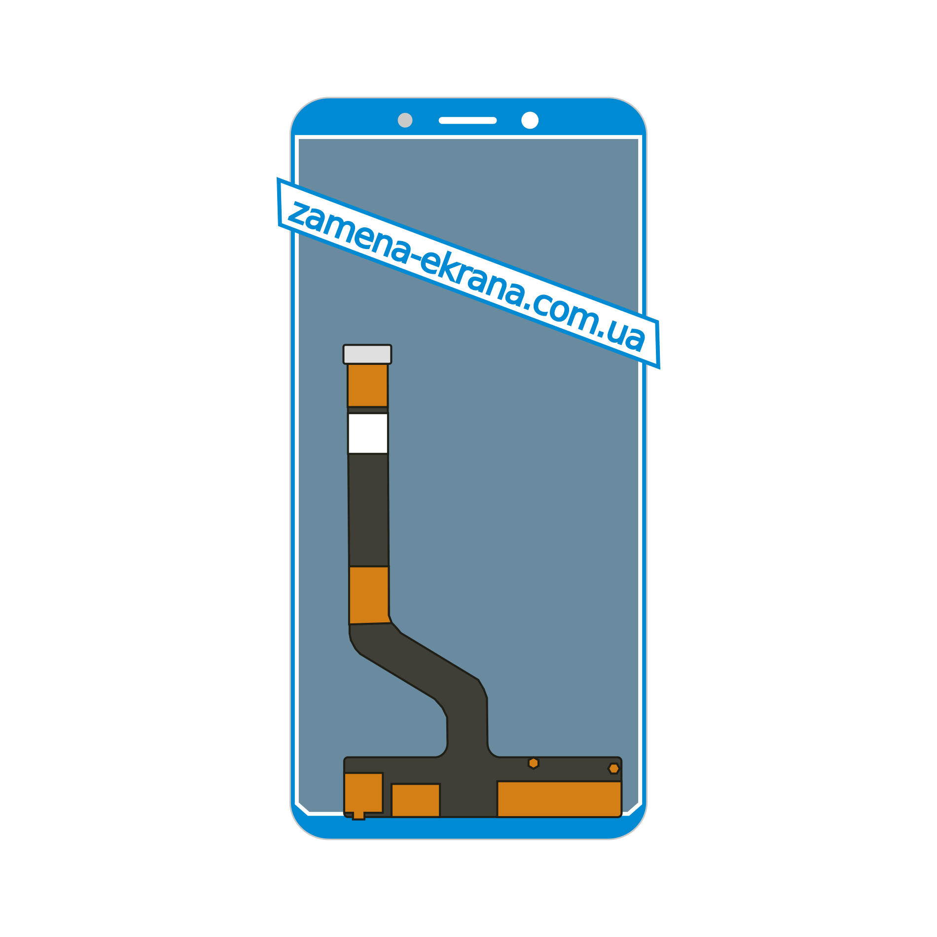 дисплей для замены Nokia C2