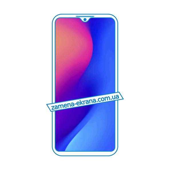 дисплей и стекло корпуса  для замены Doogee X95 Pro