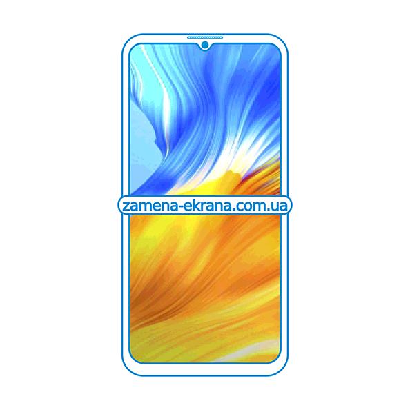 дисплей и стекло корпуса  для замены Honor X10 Max 5G