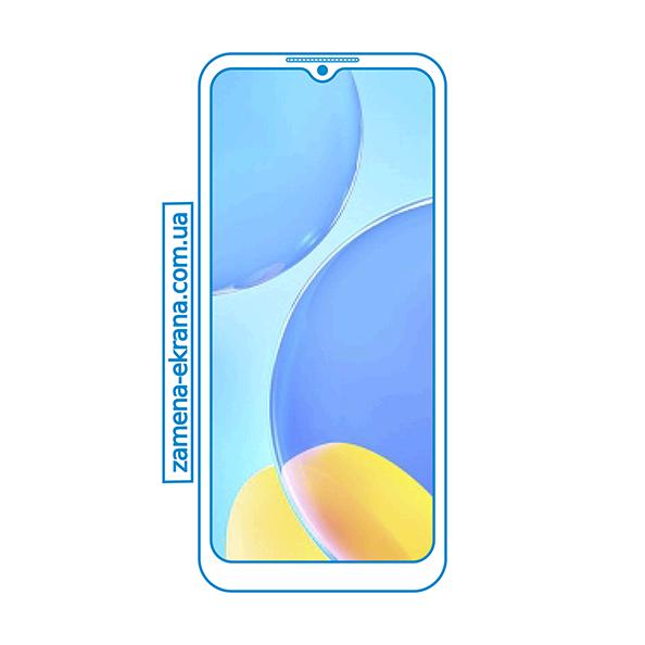 дисплей и стекло корпуса  для замены Oppo A15s