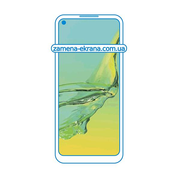 дисплей и стекло корпуса  для замены Oppo A33 (2020)