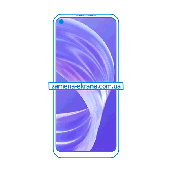 дисплей и стекло корпуса  для замены Oppo A72 5G
