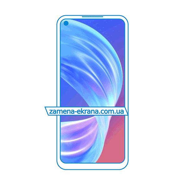дисплей и стекло корпуса  для замены Oppo A73 5G