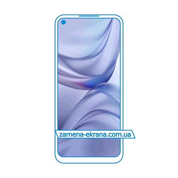 дисплей и стекло корпуса  для замены Oppo A93 5G