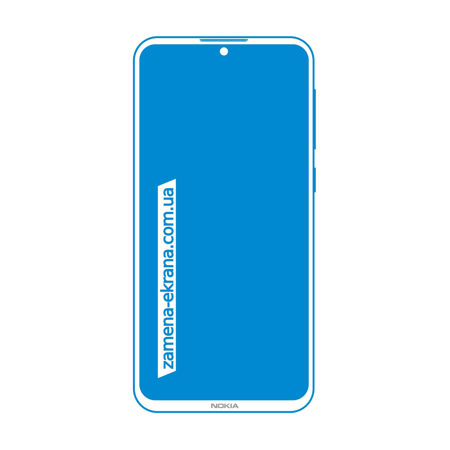 экран для замены Nokia 6.3