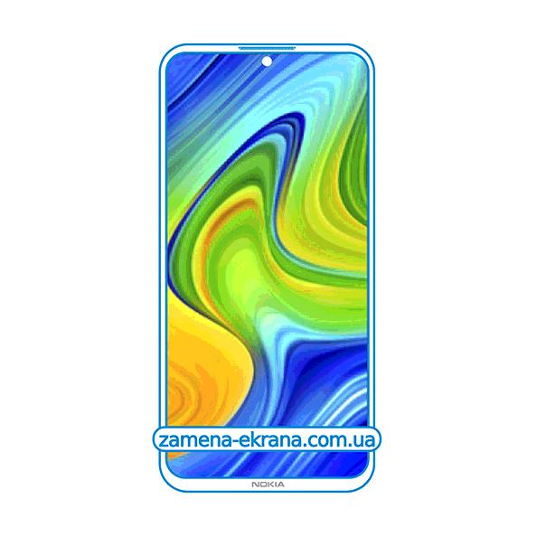стекло для наклейки Nokia 6.3