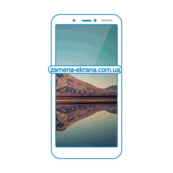 стекло для наклейки Nokia C2