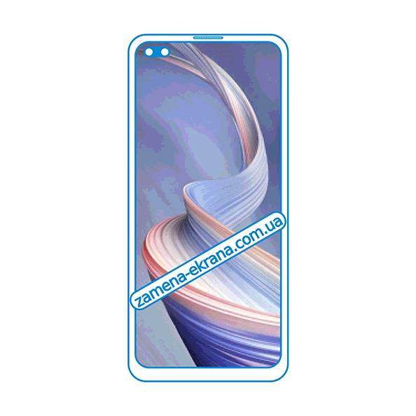 стекло для наклейки Oppo Reno4 Z