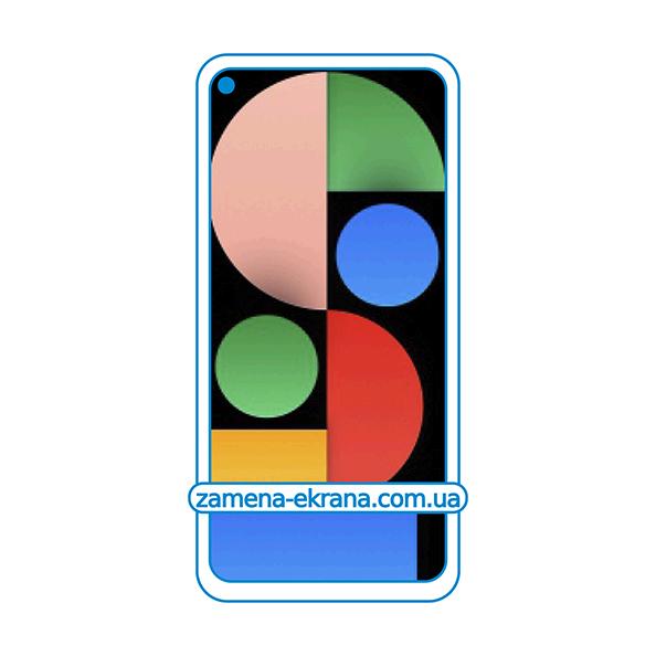 дисплей и стекло корпуса  для замены Google Pixel 4a 5G