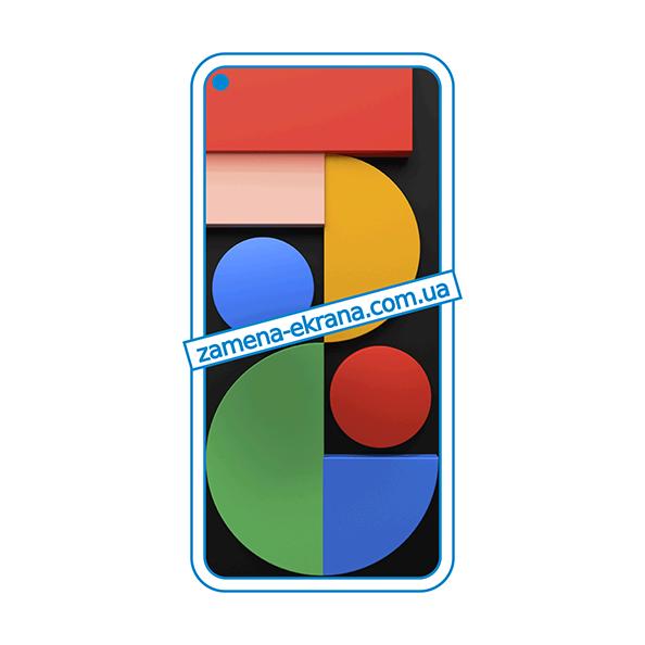 дисплей и стекло корпуса  для замены Google Pixel 5
