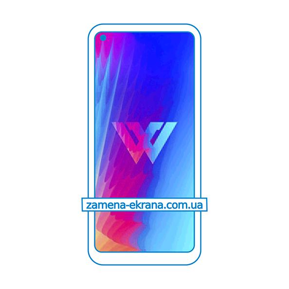 дисплей и стекло корпуса  для замены LG W41 Pro