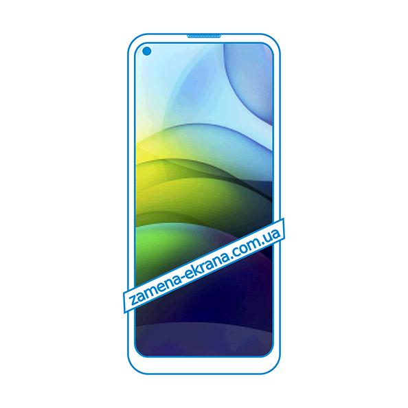 дисплей и стекло корпуса  для замены Motorola Moto G9 Power