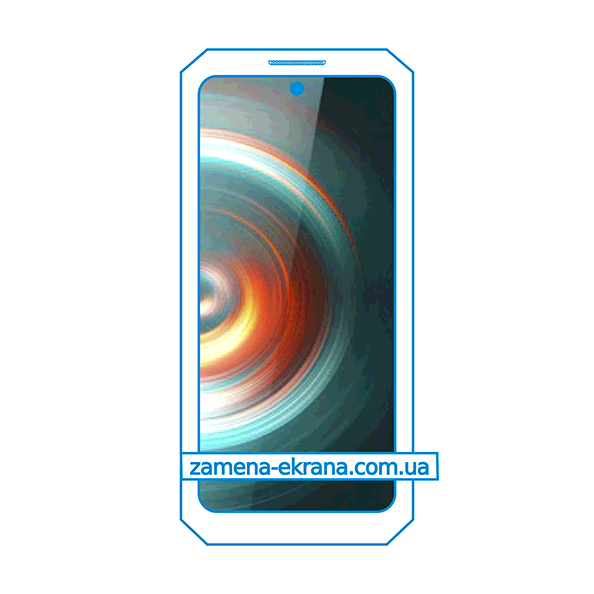 дисплей и стекло корпуса  для замены Oukitel WP10