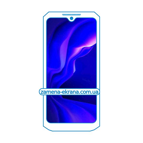 дисплей и стекло корпуса  для замены Oukitel WP8 Pro