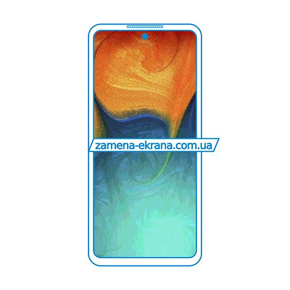 дисплей и стекло корпуса  для замены Samsung Galaxy A52