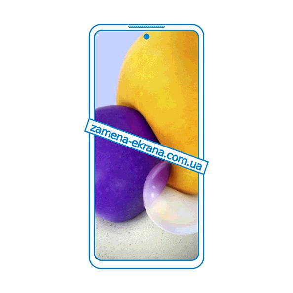 дисплей и стекло корпуса  для замены Samsung Galaxy A72
