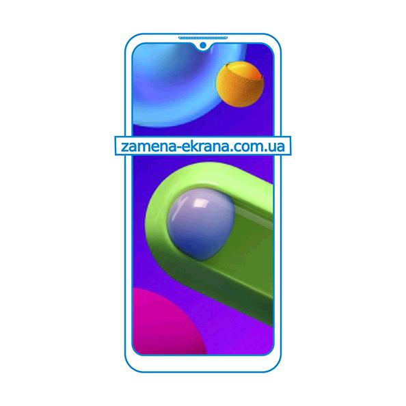 дисплей и стекло корпуса  для замены Samsung Galaxy M02