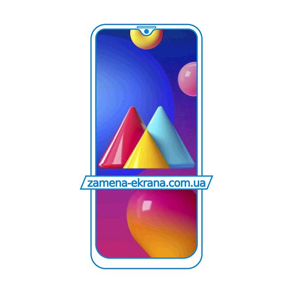дисплей и стекло корпуса  для замены Samsung Galaxy M02s