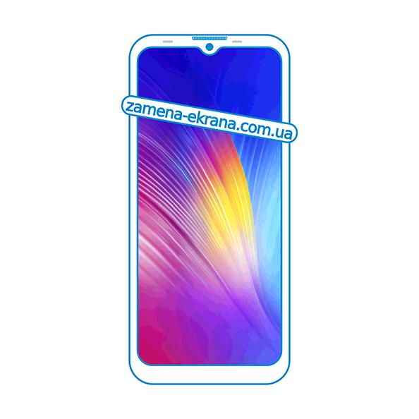 дисплей и стекло корпуса  для замены Tecno Spark 4 Lite