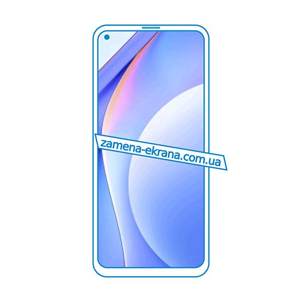 дисплей и стекло корпуса  для замены Xiaomi Mi 10T 5G