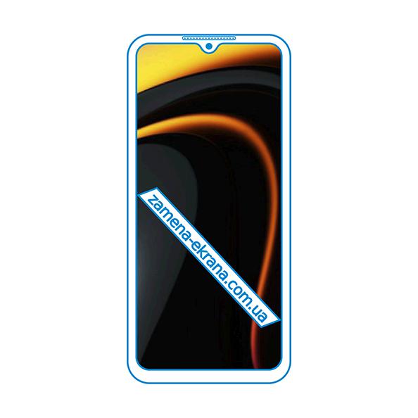 дисплей и стекло корпуса  для замены Xiaomi Poco C3