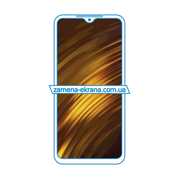дисплей и стекло корпуса  для замены Xiaomi Poco M3