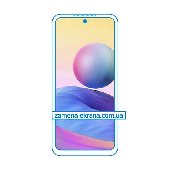 дисплей и стекло корпуса  для замены Xiaomi Redmi Note 10 5G