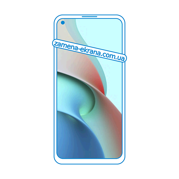 дисплей и стекло корпуса  для замены Xiaomi Redmi Note 9T