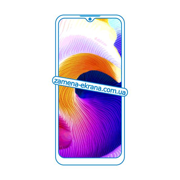 дисплей и стекло корпуса  для замены Realme Q2i