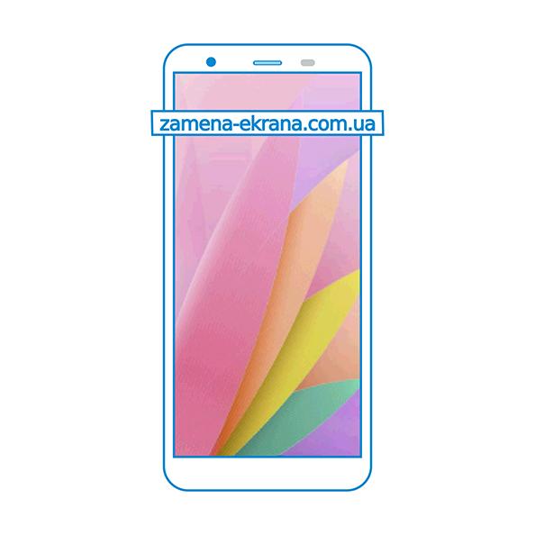 дисплей и стекло корпуса  для замены UleFone S1 Pro