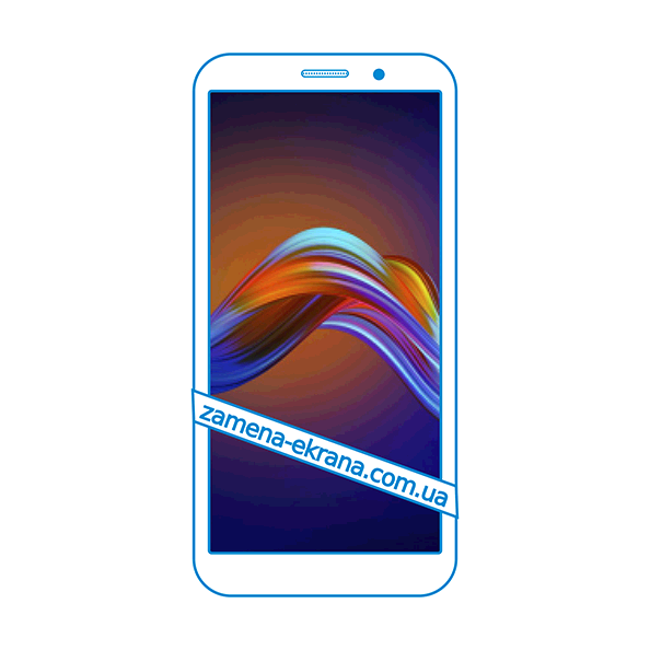 дисплей и стекло корпуса  для замены Motorola Moto E6 Play