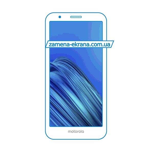 дисплей и стекло корпуса  для замены Motorola Moto E6